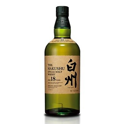 Suntory Hakushu 18 Year Old Single Malt Japanese Whisky 700ml