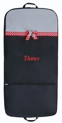 MINNIE DANCE GARMENT BAG, NEW, Red and Black