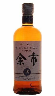Nikka Yoichi 10 Year Old Single Malt Japanese Whisky 700ml