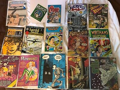 Lot Of 15 Underground Comics