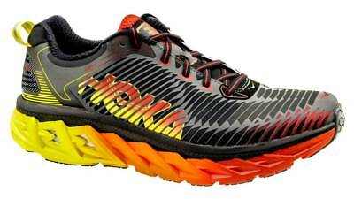 HOKA ONE ONE M ARAHI Men's Scarpe Uomo Running BLACK/FORMULA ONE 1016258 BFON