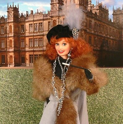 DOWNTON ABBEY Martha Levinson OOAK Doll Shirley Maclaine