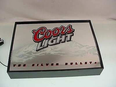 Coors Beer Sign Coors Light Beer Sign Light Up Beer Sign Man Cave