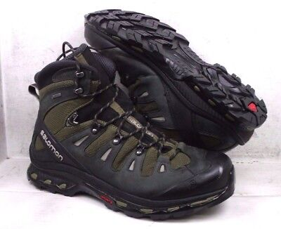 f011f1914bf0 Salomon Mens Quest 4D 2 GTX Olive Hiking Backpacking Boots Shoes 373259 sz  13 M
