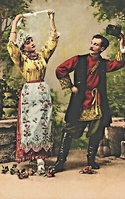 RUSSIA - Types of Russia - A dancing Couple, pub.: EDITION RICHARD N°2049