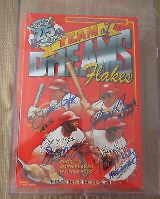 2000 Cincinnati Reds Team of Dreams Flakes-SIGNED/Full & Sealed/Includes Case!