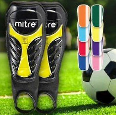 Chameleon Team Color Change Mitre Protective Shin Guard Pair Soccer Youth Adult