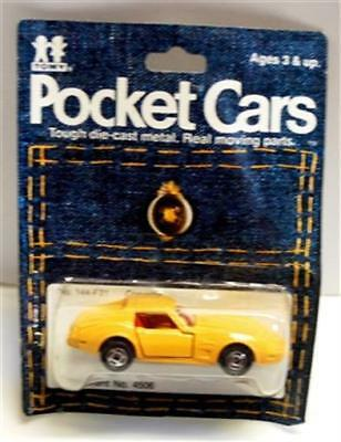 Tomy Tomica-144-F21, Corvette, Yellow, Red Int   Y476