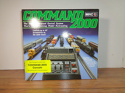 Mrc Ad 090 Command 2000 Console, Box And Instructions