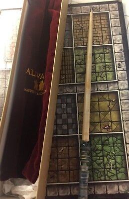 "Retired Alivan's Master Wandmakers Wooden Wand ""CURLY MAPLE"" Fantasy Collection"