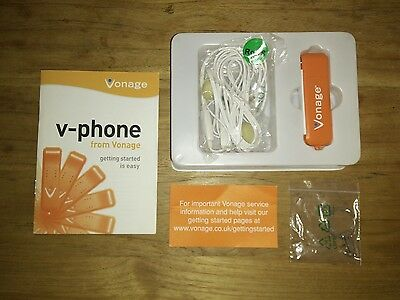 Vonage V-Phone USB Adapter Model: U256-USB11-VU TURNS PC INTO PHONE
