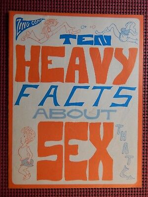 Ten Heavy Facts About Sex 1971 Sol Gordon Sex ED/Political
