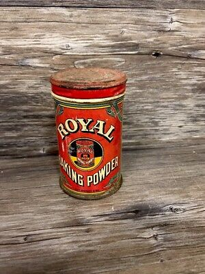 Vintage Royal Baking Powder Tin Advertising