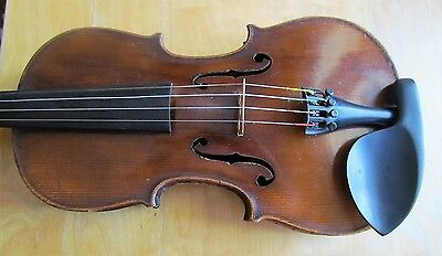 Fine old BOHEMIAN LEFT HAND violin by