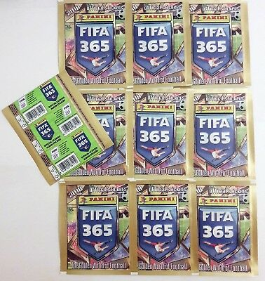 Panini FIFA 365 2018 - 10x ROMANIAN Edition (Green Back) Sealed Packs Bustina