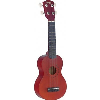 Stagg Traditional Soprano Ukulele with Tattoo Design