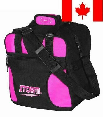 Storm Solo Bowling Bag, 1-Ball, Pink
