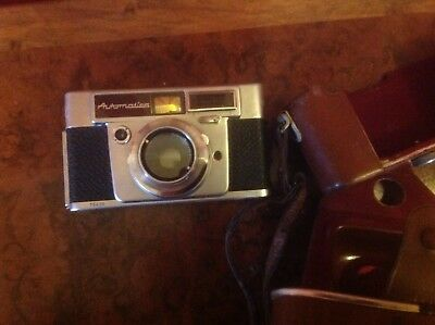 DURST AUTOMATICA 35mm CAMERA MADE IN ITALY  WITH CASE