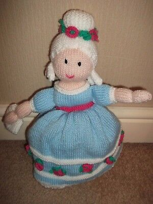 Cinderella Hand Knitted Topsy Turvey Doll Puppet Upside Down Traditional Toy NEW