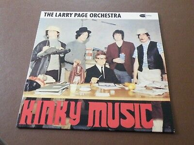 The Larry Page Orchestra Kinky Music Lp Uk C5 Records '88 Issue Of '65 Lp Kinks