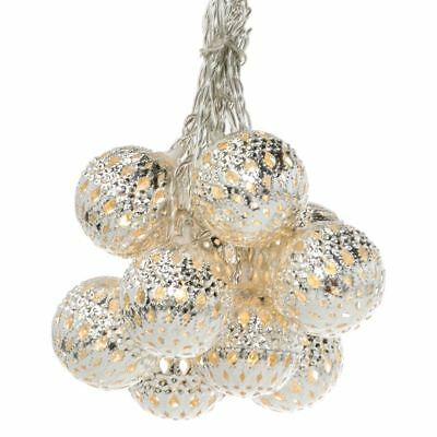 NEW Silver Colour Heliad String Lights Small Silver Colour By Freedom