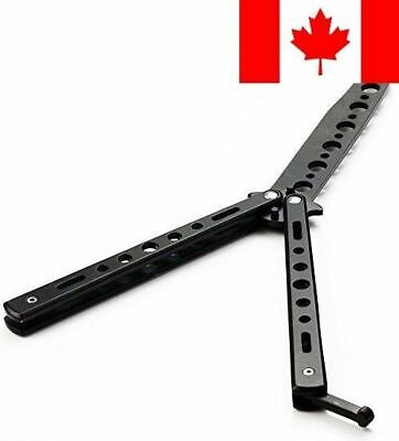 Icetek Sports Metal Practice Balisong Butterfly Trainer Knife