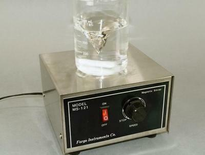 Fargo MS-121 Powerful Magnetic Lab Stirrer Mixer All Stainless Steel