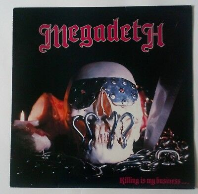 Megadeth - Killing Is My Business - Rare/Collectable 1985 UK LP (Cat.No, MFN 49)