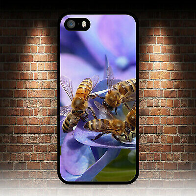 Honey Bees Bee Keeping Phone Case For Iphone 4 4S 5 5S Se 5C 6 6S 7 8 Plus X