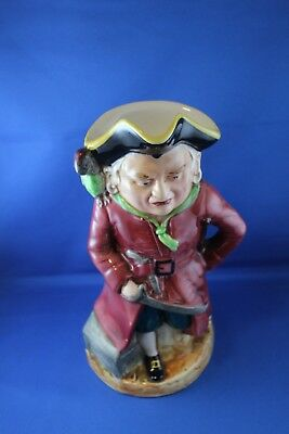Large Burlington Musical Pirate Toby Jug 10. 5 Inches High