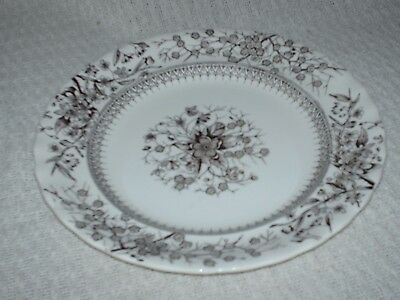 antique keeling & co plate GLOUCESTER reg no 104604  1890s   24.5 cm wide