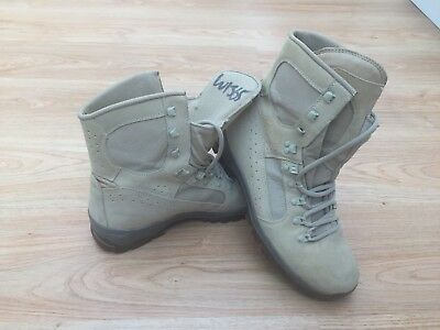 Mens Meindl Air Active Desert Army Boots Sand UK 10 / Bargain 99p start !!!