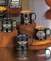 Official Licensed Harley Davidson Espresso Cups