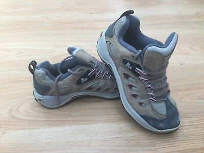 Ladies Merrell Reflex Cyber Walking Hiking Boots Shoes UK 6.5 US 9 EUR 40 / 99p
