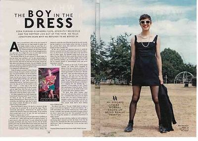 EZRA FURMAN : 2-page INTERVIEW ARTICLE -2015-