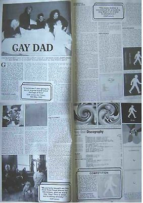 GAY DAD : 4-page INTERVIEW ARTICLE -1999-