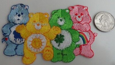 Care Bears Group Adorable 80's 80s Cartoon Embroidered Iron On Patch - New, Rare