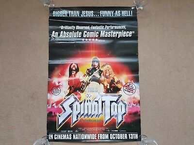 Original 1984 SPINAL TAP Cinema Film / Movie Poster