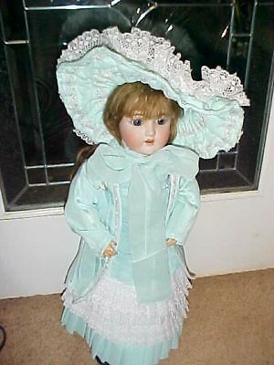 "23"" Antique Beautiful Heinrich Handwerck doll Composition Jointed Germany #4"