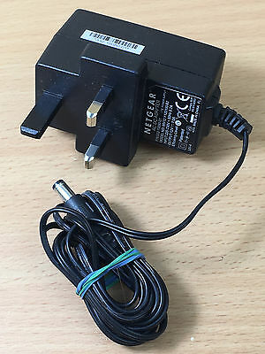 Genuine Modem/Router Netgear MV12-Y120100-B2 Replacement Power Adapter/Lead/Plug