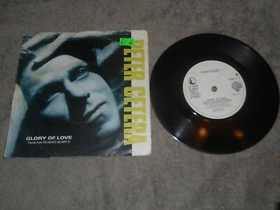 "Peter Cetera - Glory Of Love 7"" Single Record"