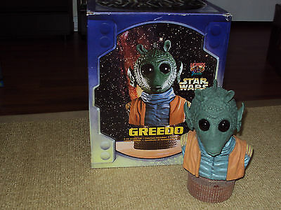 Legends, Star Wars Bust, Greedo With Box, Excellent Condition