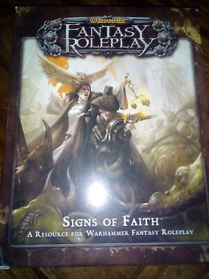 Warhammer Frp Fantasy Role Play - Signs Of Faith 3Rd Edition