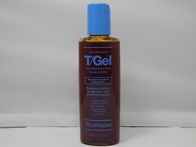 Neutrogena T/Gel Therapeutic Shampoo Stubborn Itch Control 4.4fl.oz./130ml NEW