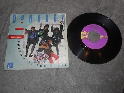 "Debarge - Rhythm Of The Night 7"" Single Record"