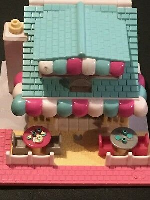 Vintage Polly Pocket Light Up Pizza Parlour Playset Dated 1993