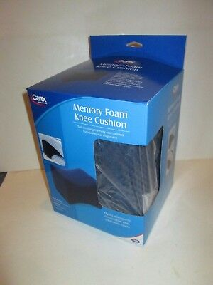 Carex Brand Memory Foam Knee Cushion Sleep Support Pillow P10400 Brand New