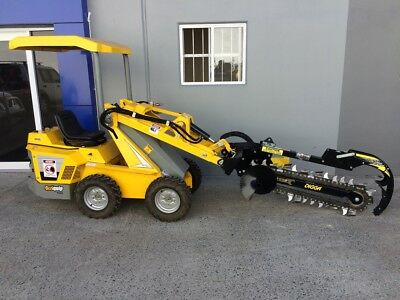Ozziquip Puma Diesel Loader with Trenching Package