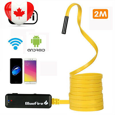 BlueFire Semi-rigid Flexible Wireless Endoscope IP67 Waterproof WiFi...