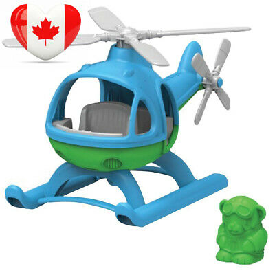 Green Toys HELB-1060 Helicopter, Blue/Green